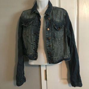 ⭐️MAKE OFFERS! Topshop moto denim jacket